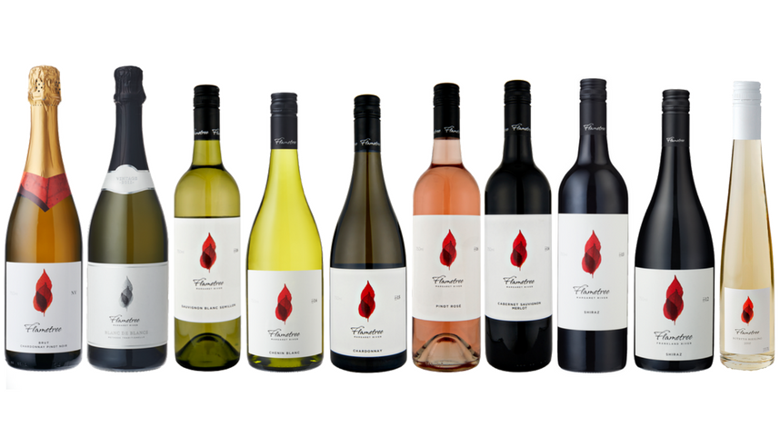 Flametree range of wines