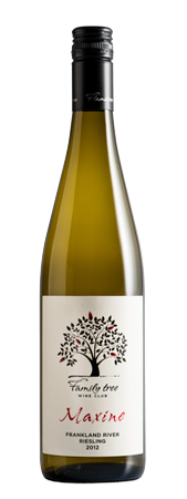 Family tree 'Maxine' Riesling 2012