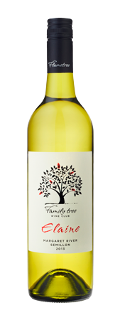 Family tree 'Elaine' Semillon 2013 Image