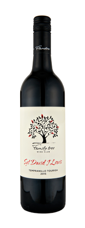Family tree 'Sgt David J Lewis' Tempranillo Touriga 2015